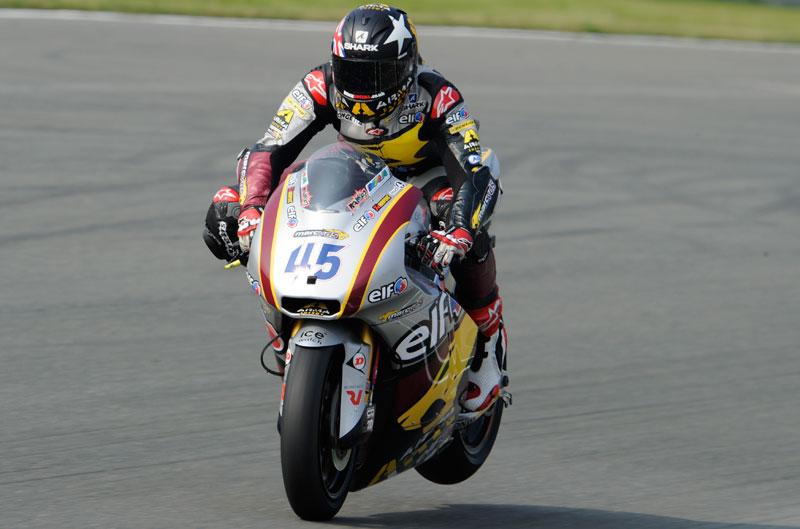 Scott Redding logra la pole de Moto2 en el GP de Indianápolis