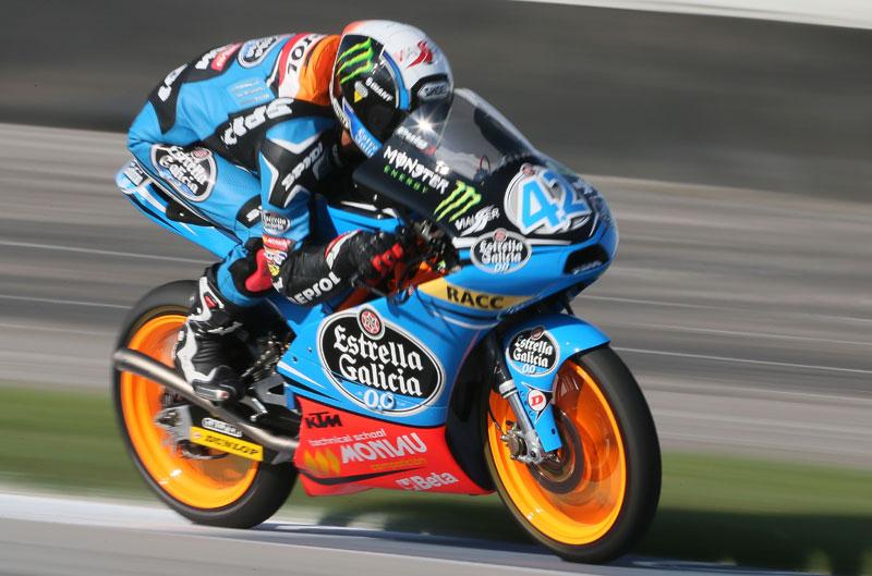 Rins gana la carrera de Moto3 en el GP Indy