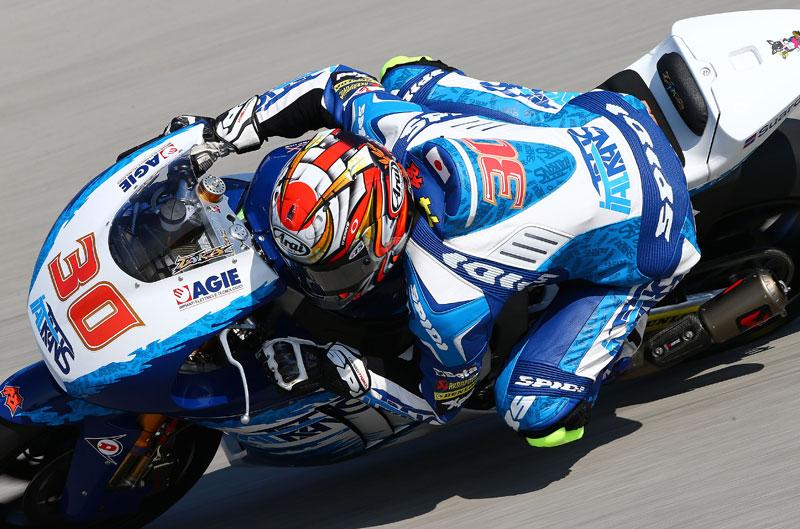 Takaaki Nakagami a MotoGP con Okada y Honda