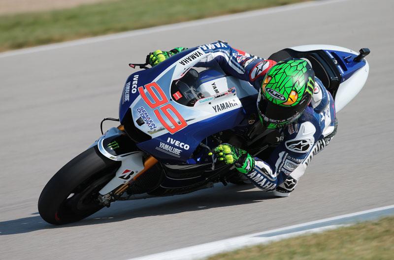 Jorge Lorenzo domina los primeros libres en Brno