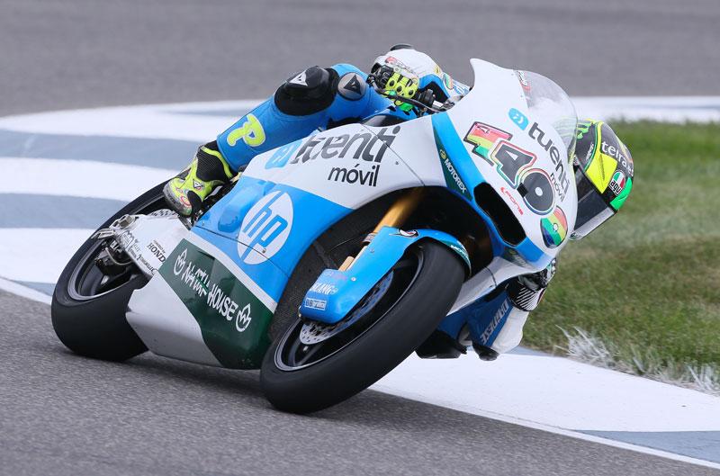 Pol Espargaró, el más rápido en la FP1 de Moto2