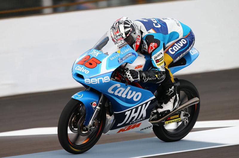 Mejor tiempo para Maverick Viñales en el FP2 de Moto3