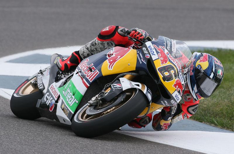 Stefan Bradl, el más rápido en el FP2 de MotoGP