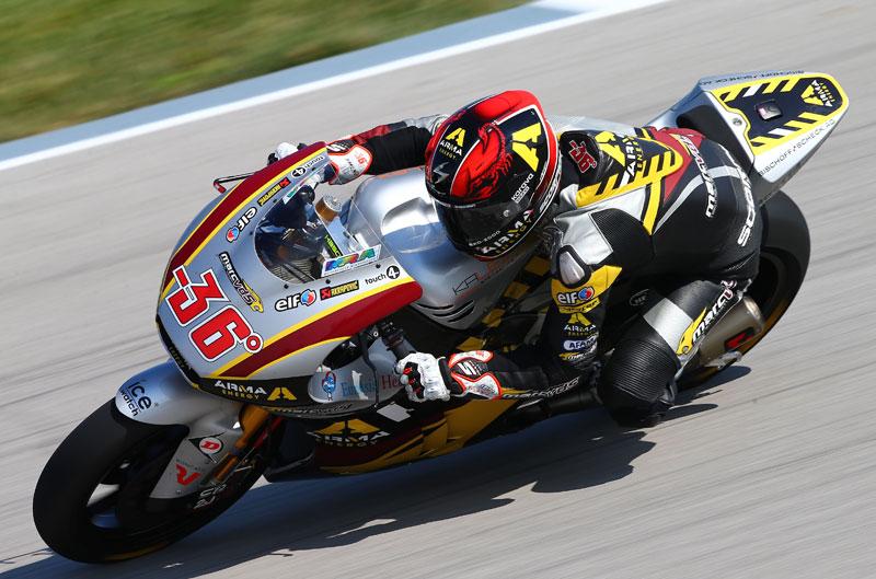 Mika Kallio, mejor tiempo de Moto2 en Brno