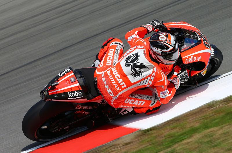 Nuevo motor y chasis para Dovizioso en Brno