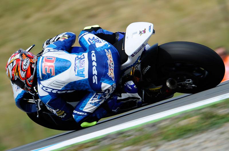 Dominio de Takaaki Nakagami en el FP3 de Moto2 en Brno
