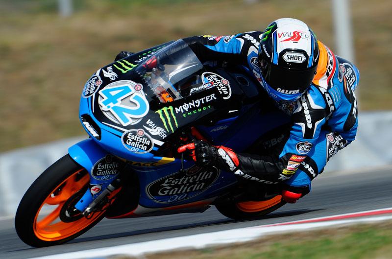 Alex Rins, primero en la clasificación de Moto3 en Brno