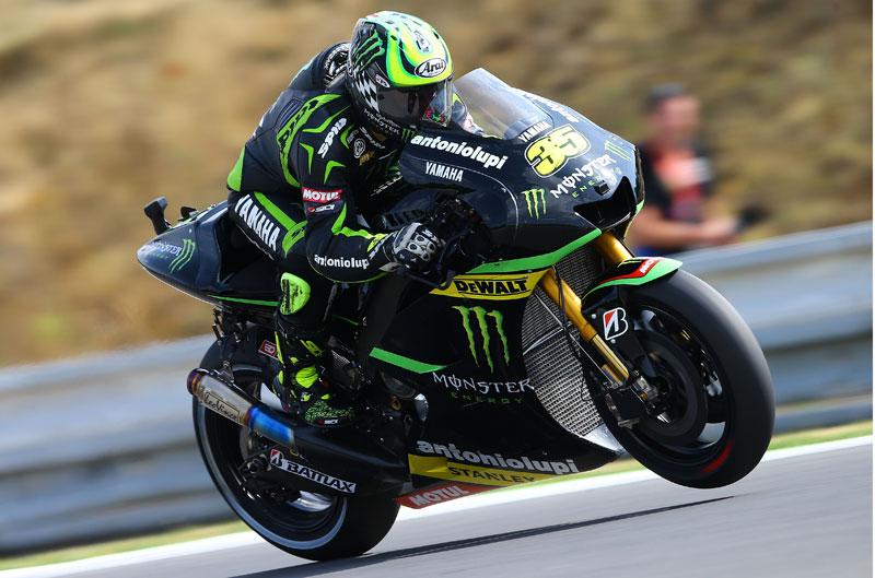 Cal Crutchlow logra la pole de MotoGP en Brno