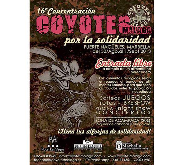 XVI Concentración Coyotes por la Solidaridad
