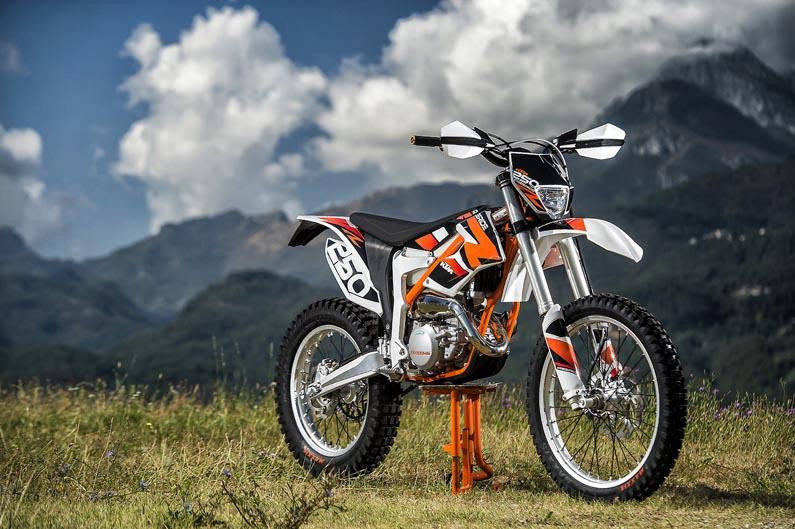 Nueva KTM Freeride 250 R 2014