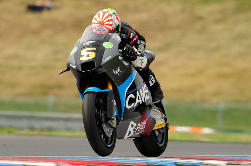 Johann Zarco, primero en el FP2 de Moto2