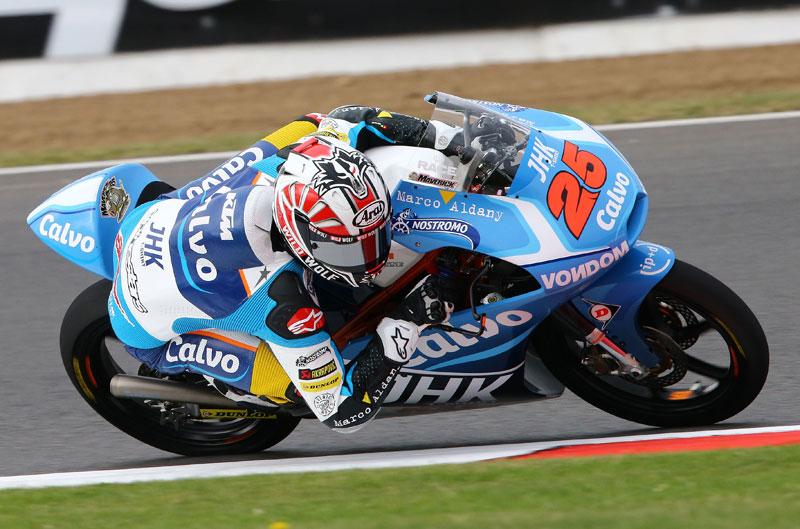 Maverick Viñales vuelve a dominar los entrenamientos de Moto3 en Silverstone