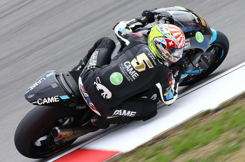Johann Zarco, mejor tiempo en el FP3 por una milésima
