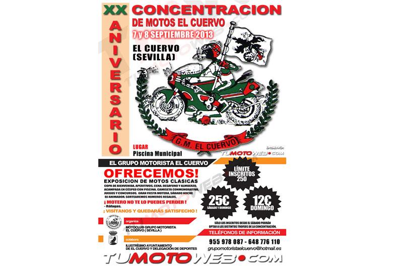 XX Concentración de Motos El Cuervo