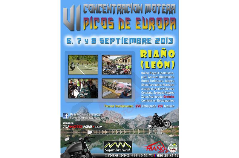 VI Concentración Motera Picos de Europa 2013