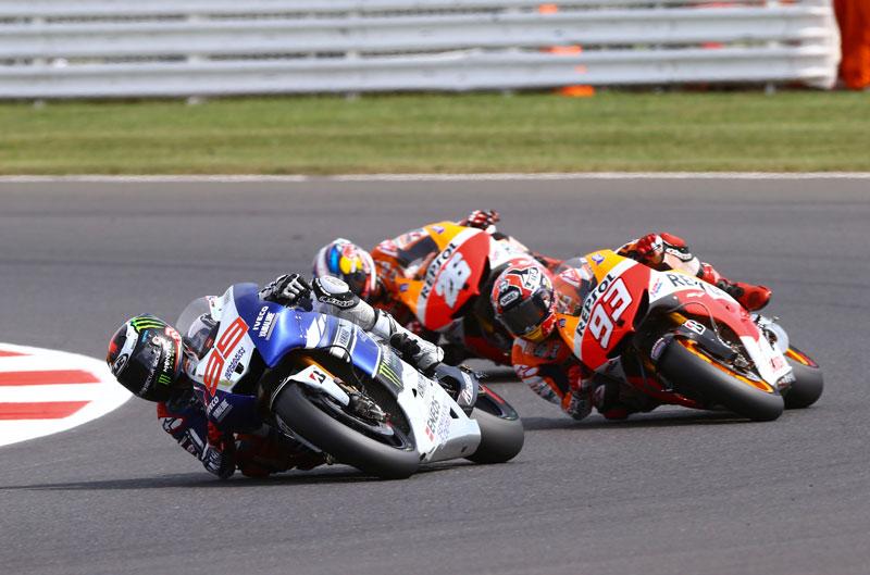 GP de Gran Bretaña y Triumph Tiger Sport
