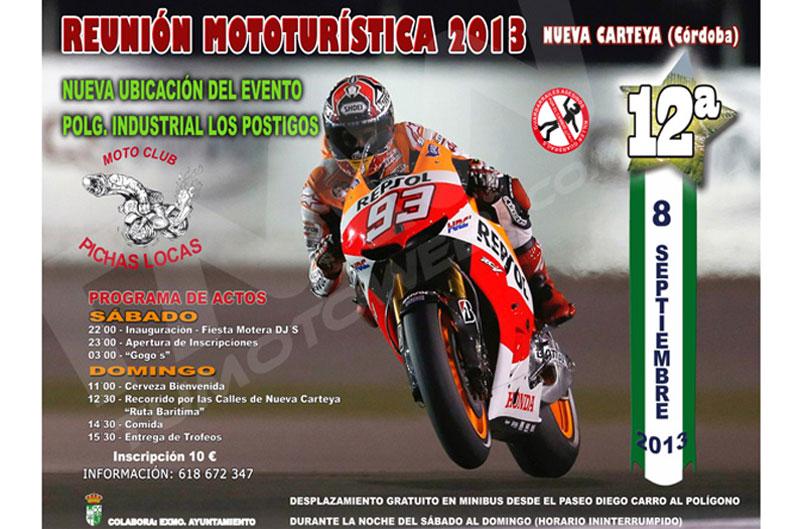 XII Reunión Mototurística Villa de Nueva Carteya