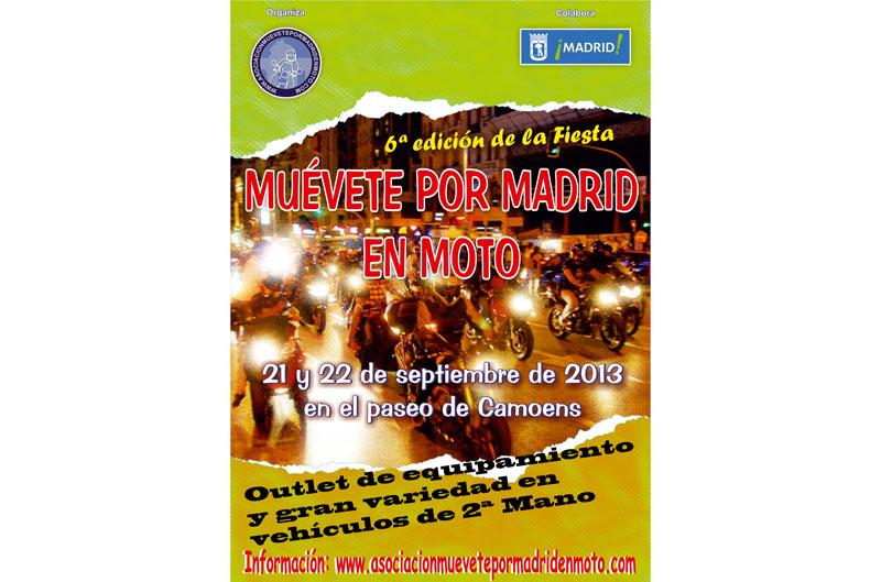 VI Muévete por Madrid en Moto