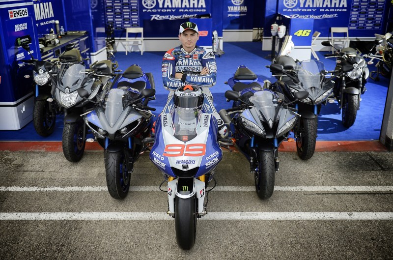 Serie Race Blu de Yamaha