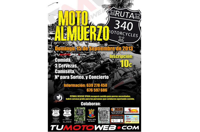 XI Motoalmuerzo ruta 340 Motorcycles