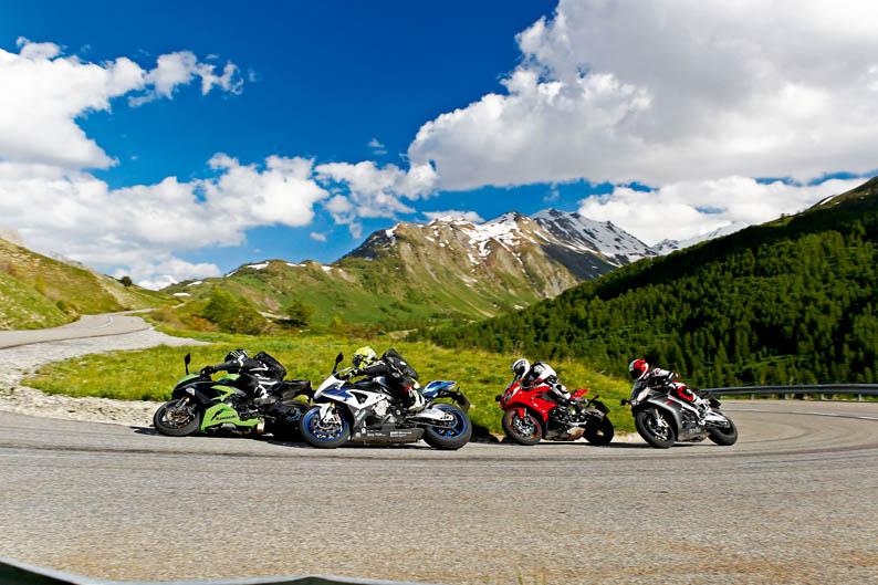 Comparativa motos deportivas Alpen Master 2013
