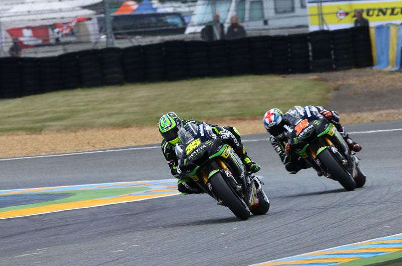 Tech3 seguirá con motos Yamaha hasta 2015