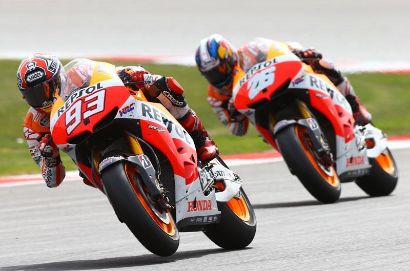 Honda regala dos entradas para el GP de Aragón