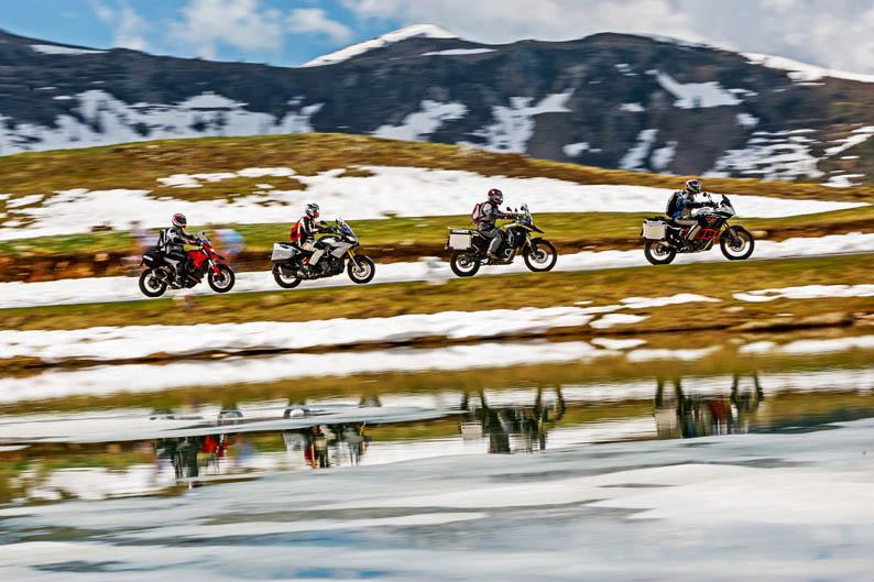 Comparativa motos trail Alpen Master 2013