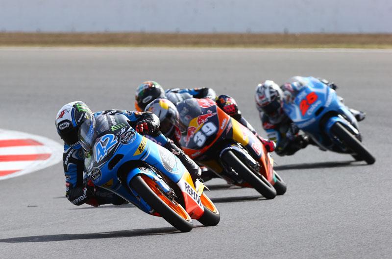 Alex Rins, el más rápido del día en Moto3
