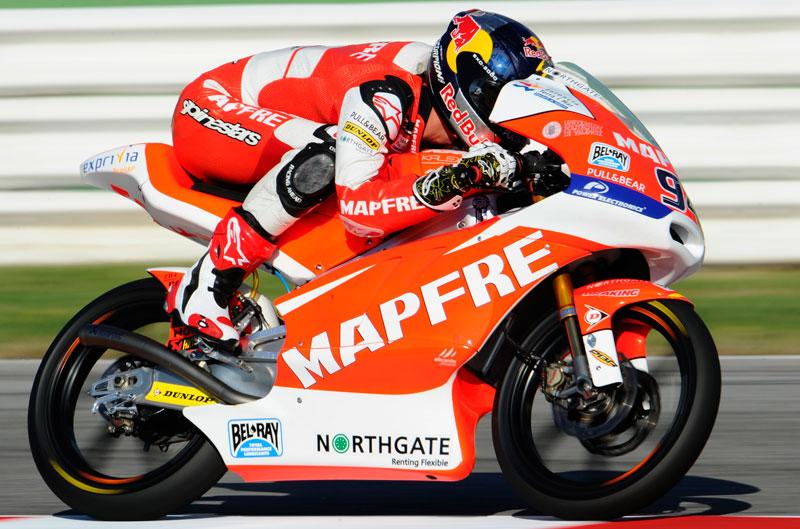 Folger, Rins y Viñales, primera fila de Moto3 en San Marino