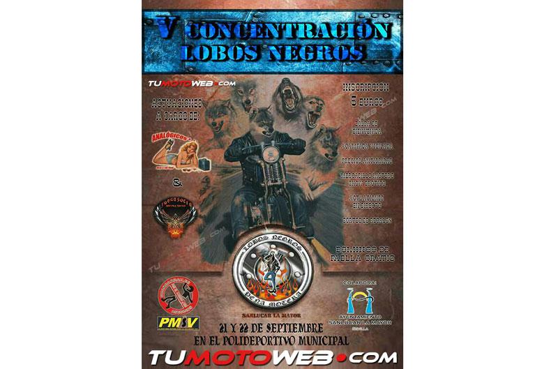 VI Concentración motera Lobos Negros