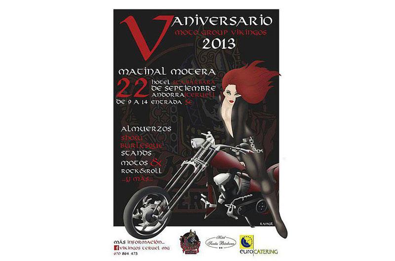 V Aniversario moto Group Vikingos
