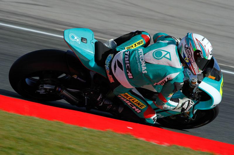 Syahrin y Mariñelarena se reparten las victorias en Moto2