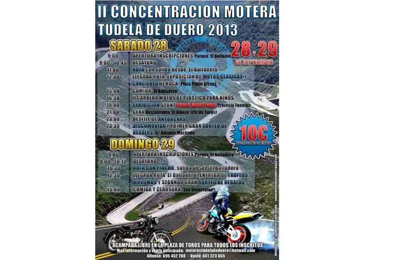 II Concentración Motera Tudela de Duero