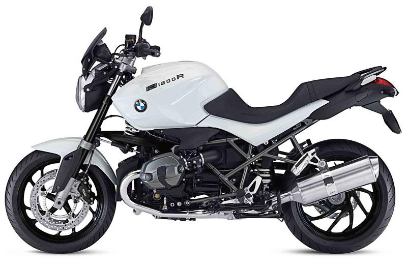 BMW presenta la versión especial R 1200 R «DarkWhite»