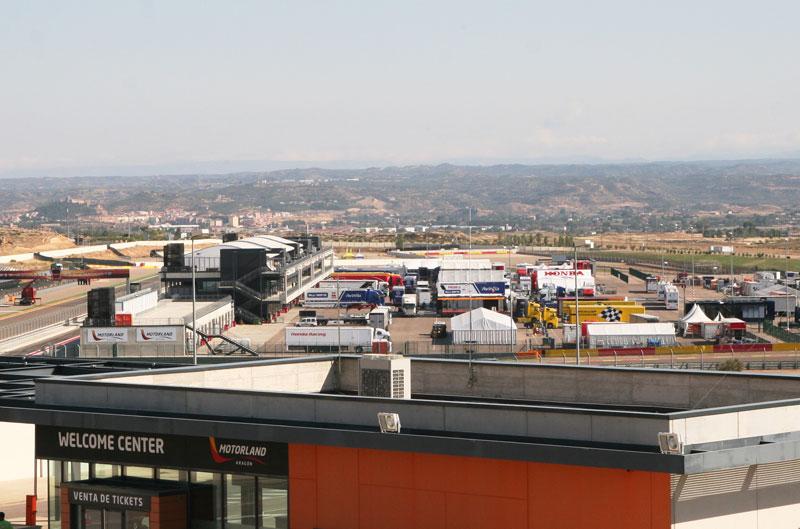 Comienza la actividad en MotorLand previa al GP de Aragón