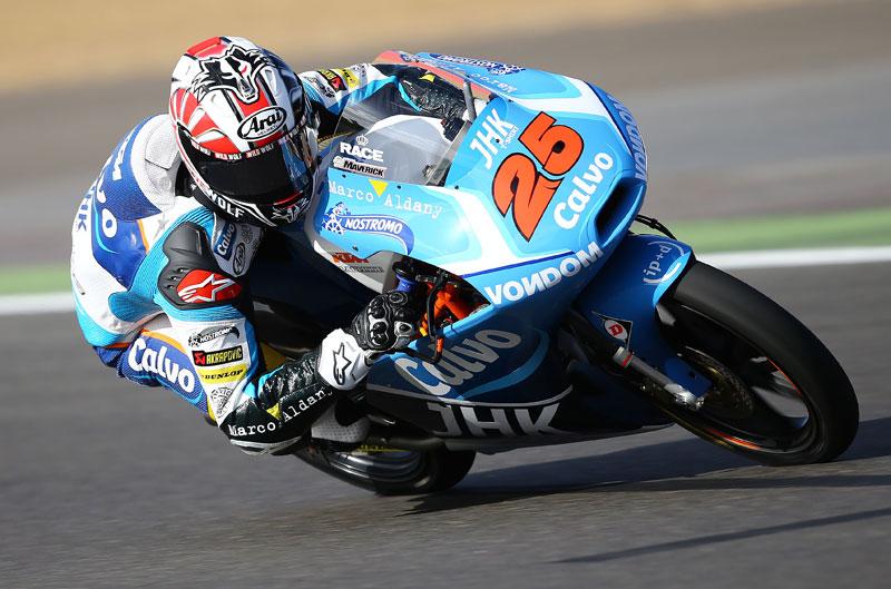 Maverick Viñales, primero en el FP1 del GP de Aragón