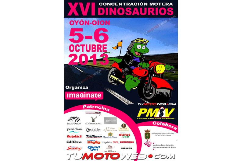 VXI Concentración Motera Dinosaurio