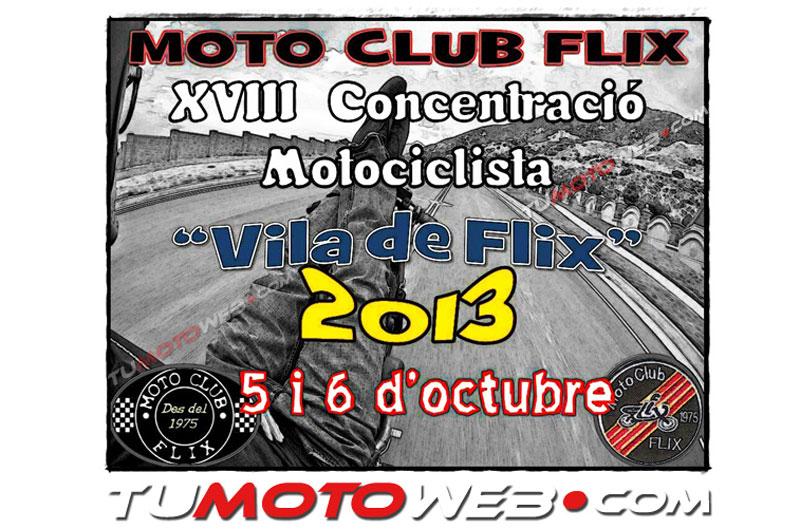 XVIII Concentración Motociclista Villa de Flix