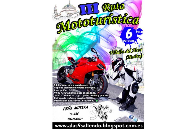 III Ruta Mototurística Villalba del Alcor