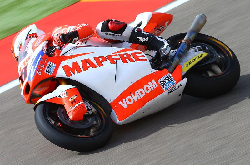 Nico Terol, primero en los entrenamientos de clasificación en MotorLand