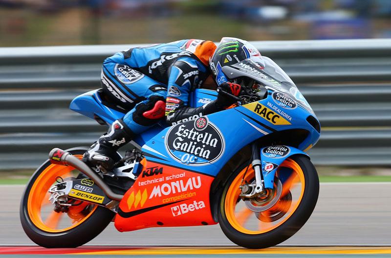 Alex Rins gana a la carrera de Moto3 en MotorLand