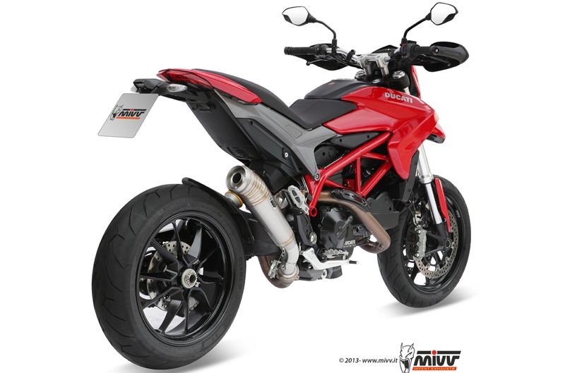 Nuevos escapes Mivv para Ducati Hypermotard 821
