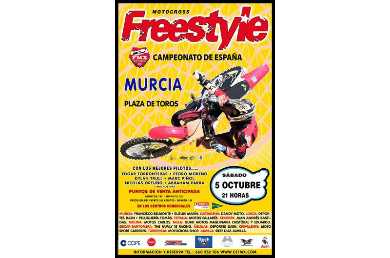 Murcia acogerá la segunda prueba del Freestyle nacional
