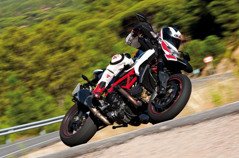 Ducati Hypermotard SP. Prueba