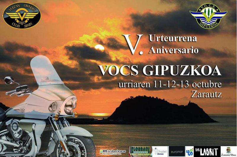 V Aniversario Vocs Gipuzkoa