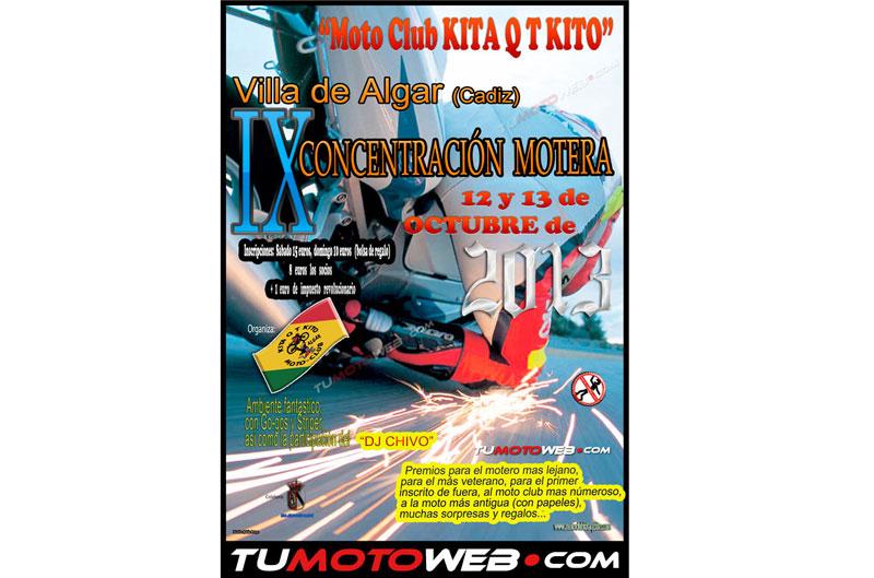 IX Concentración Motera MotoClub Kita Q T Kito