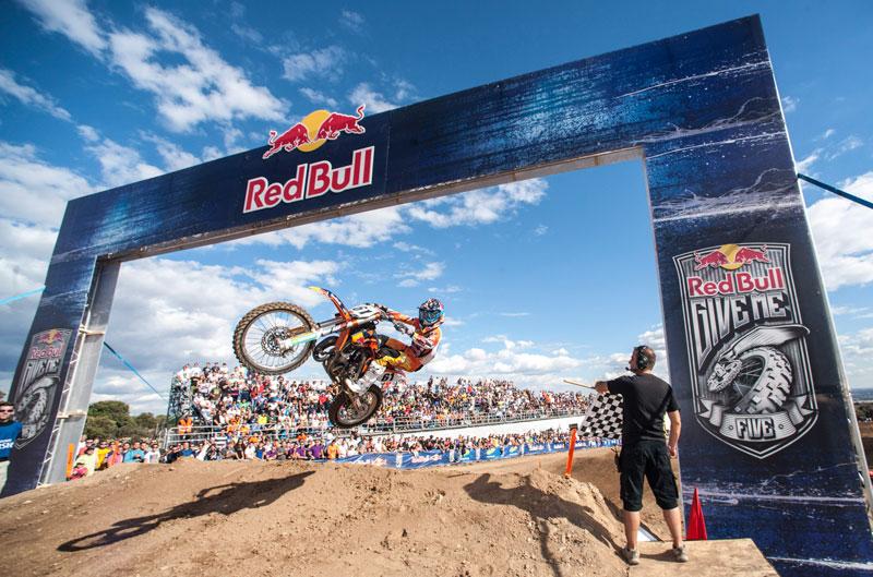 Ryan Dungey y Jorge Prado, vencedores del Red Bull Give me Five