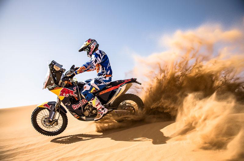 KTM estrenará su nueva 450 Rally en Marruecos