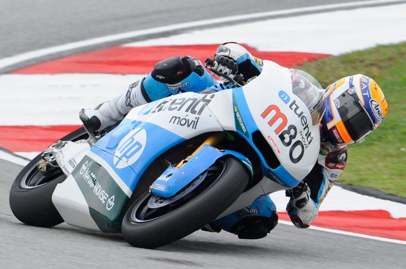 Mejor tiempo para Tito Rabat en Moto2 en Sepang